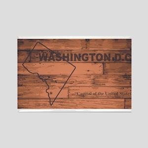 Washington DC Map Brand Magnets