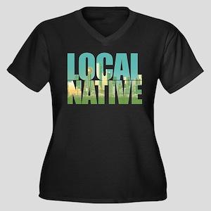 Local Native Texas Plus Size T-Shirt