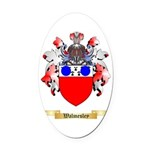 Walmesley Oval Car Magnet