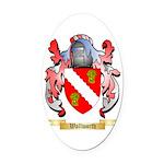 Wallworth Oval Car Magnet