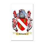 Wallworth Rectangle Car Magnet