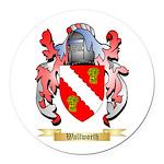 Wallworth Round Car Magnet