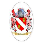 Wallworth Sticker (Oval 50 pk)