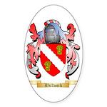 Wallwork Sticker (Oval 50 pk)