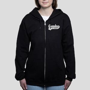 Grandma Est. 2017 Women's Zip Hoodie