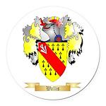 Wallis Round Car Magnet