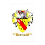 Wallis Sticker (Rectangle 10 pk)