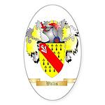 Wallis Sticker (Oval 50 pk)