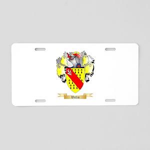 Wallis Aluminum License Plate