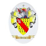 Wallis Oval Ornament