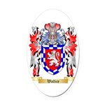 Wallice Oval Car Magnet
