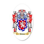 Walles Oval Car Magnet
