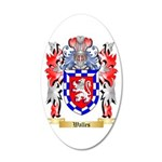 Walles 20x12 Oval Wall Decal