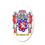 Walles 35x21 Oval Wall Decal