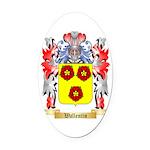 Wallentin Oval Car Magnet