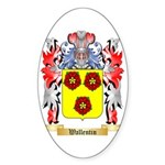 Wallentin Sticker (Oval 10 pk)