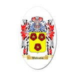 Wallentin 35x21 Oval Wall Decal
