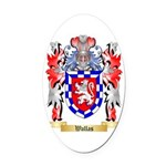 Wallas Oval Car Magnet