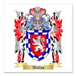 Wallas Square Car Magnet 3