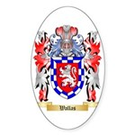 Wallas Sticker (Oval 50 pk)