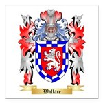Wallace Square Car Magnet 3