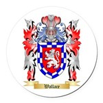 Wallace Round Car Magnet