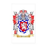Wallace Sticker (Rectangle 50 pk)
