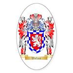 Wallace Sticker (Oval)