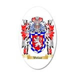 Wallace 20x12 Oval Wall Decal