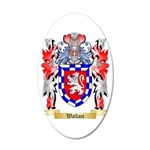 Wallace 35x21 Oval Wall Decal