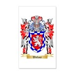 Wallace 20x12 Wall Decal