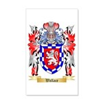 Wallace 35x21 Wall Decal