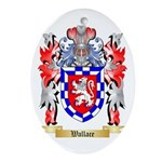 Wallace Oval Ornament