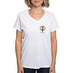 Wall Women's V-Neck T-Shirt