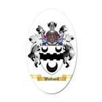 Walkmill Oval Car Magnet