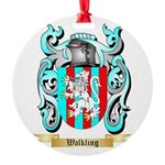 Walkling Round Ornament