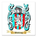 Walkling Square Car Magnet 3