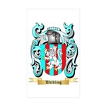 Walkling Sticker (Rectangle 50 pk)