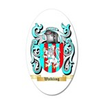Walkling 20x12 Oval Wall Decal