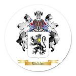 Walklett Round Car Magnet