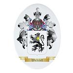 Walklett Oval Ornament