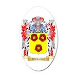 Walkiewicz 35x21 Oval Wall Decal