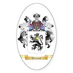 Walkett Sticker (Oval 50 pk)
