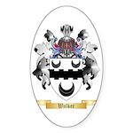 Walker Sticker (Oval 50 pk)