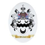 Walker Oval Ornament
