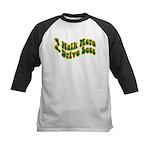 Earth Day : Walk more, Drive less Kids Baseball Je