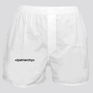 Geeky Feminist End Patriarchy HTML ta Boxer Shorts