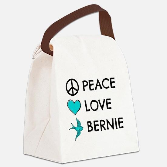 Cute Bern Canvas Lunch Bag