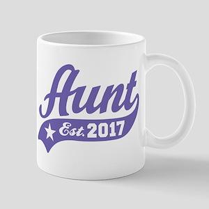 Aunt Est. 2017 Mug