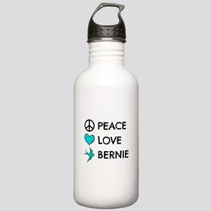 Peace * Love * Bernie Stainless Water Bottle 1.0L